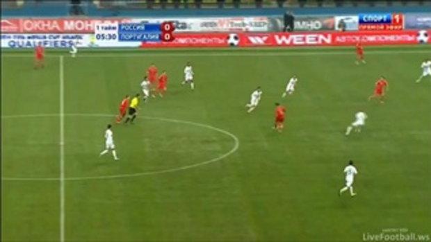 รัสเซีย 1-0 โปรตุเกส (บอลโลกรอบคัดเลือก)