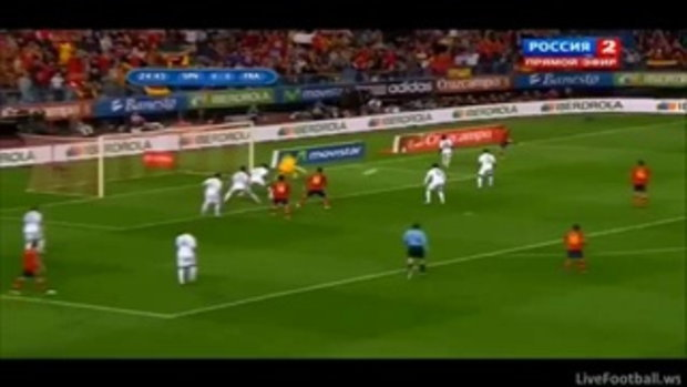 สเปน 1-1 ฝรั่งเศส ฟุตบอลโลกรอบคัดเลือก