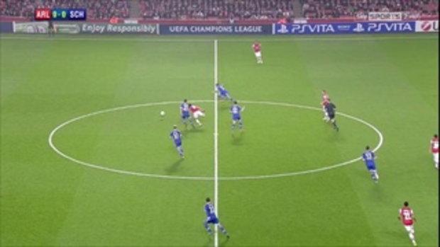 อาร์เซน่อล 0-2 ชาลเก้ 04 (UCL)