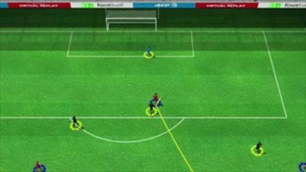 คลิปไฮไลท์ยูโร2012 3D โปรตุเกส ตีเสมอ ฮอลแลนด์ 1-1
