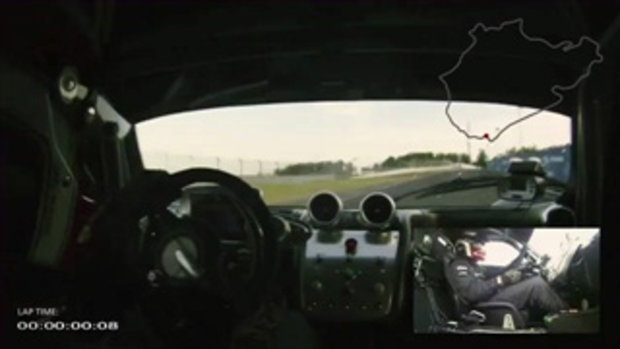 Pagani Zonda R - Nurburgring lap  by sia.co.th