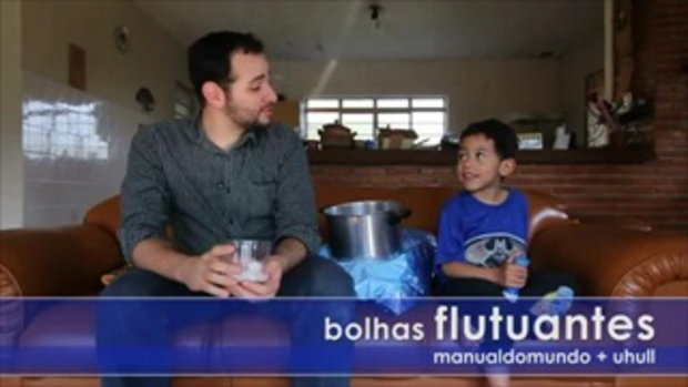 Bolhas flutuantes no gelo seco. เท่ห์ดี  by sia.co.th