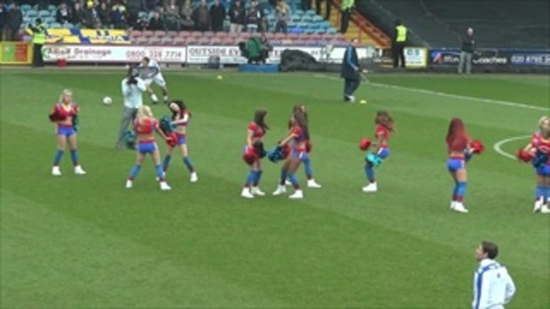 the Crystal Palace Cheerleaders_The Crystal girls