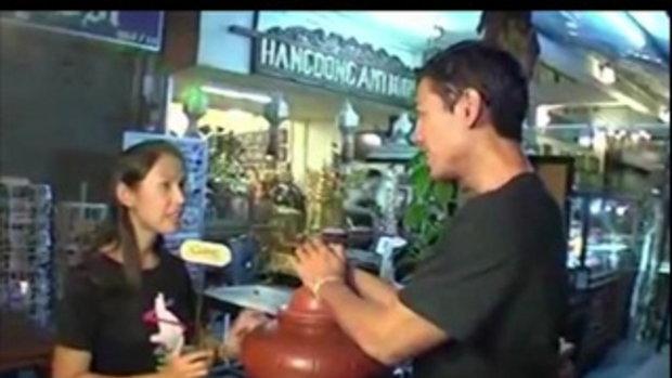 เทยเที่ยวไทย พ่อค้าแซ่บ :  ขนมหวาน น้ำแข็งไส พ่อค้าอร่อย!