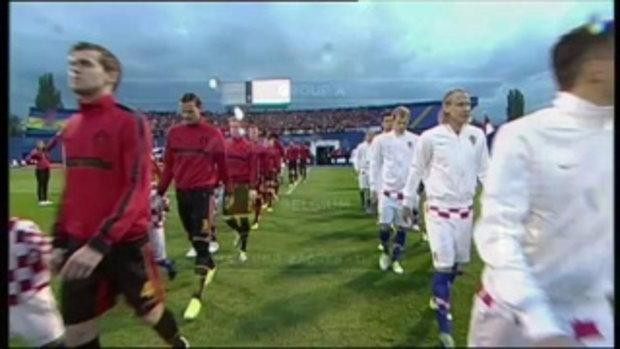 ไฮไลต์ฟุตบอล โครเอเชีย 1-2 เบลเยียม (บอลโลก รอบคัดเลือก)