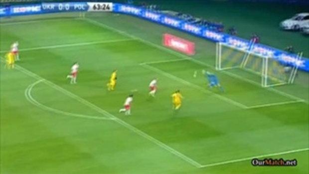ไฮไลต์ฟุตบอล ยูเครน 1-0 โปแลนด์ (บอลโลก รอบคัดเลือก)