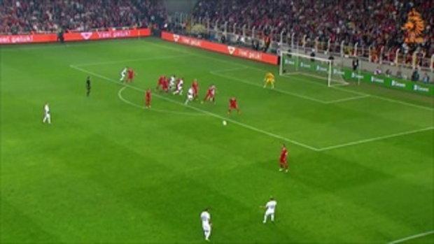 ไฮไลต์ฟุตบอล ตุรกี 0-2 ฮอลแลนด์