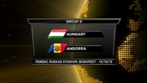 ไฮไลต์ฟุตบอล ฮังการี 2-0 อันดอร์ร่า