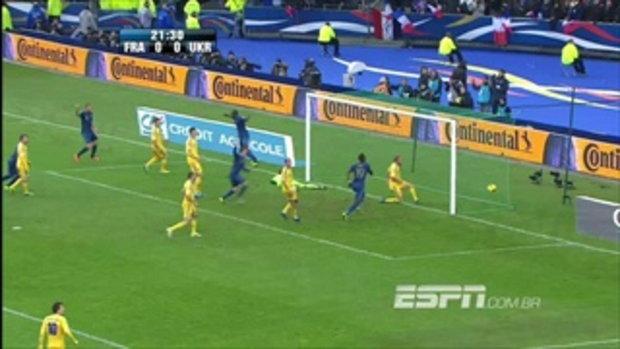 ไฮไลท์ฟุตบอล ฝรั่งเศส 3-0 ยูเครน ฟุตบอลโลก รอบเพลย์ออฟ โซนยุโรป นัดสอง