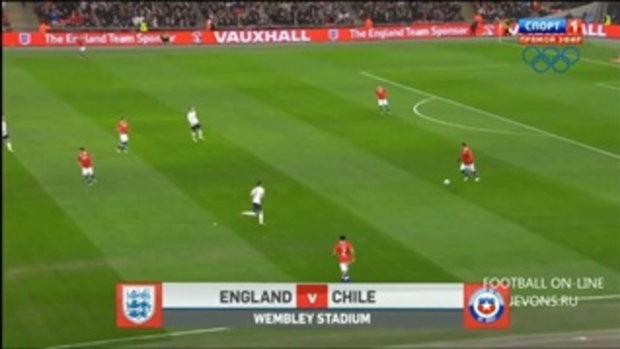 อังกฤษ 0-2 ชิลี (กระชับมิตร)