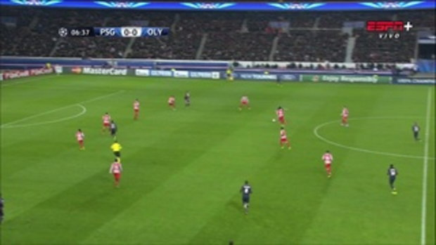 ไฮไลท์ฟุตบอล ปารีส แซงแชแมง 2-1 โอลิมเปียกอส