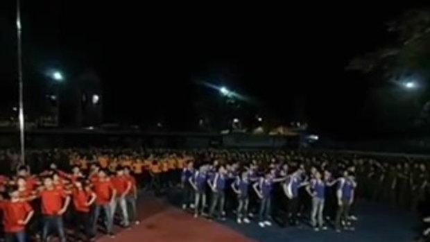 คนเวียดนามเต้นเพลงไทย