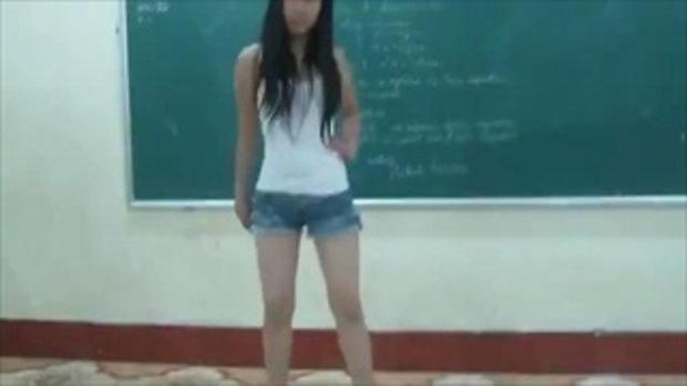 สาวเวียดนาม เต้น bubble pop ของ Hyuna พริ้วเลย