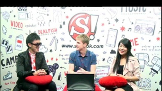 Sanook live chat   คริส The Star 9  2/4