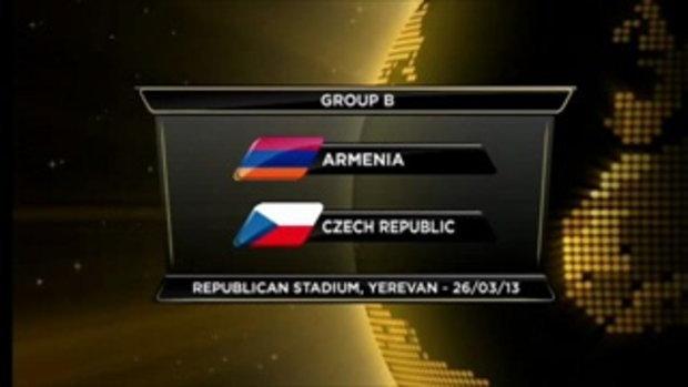 อาร์เมเนีย 0-3 สาธารณรัฐเช็ก (บอลโลกรอบคัดเลือก)