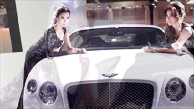 พริตตี้ Motor Show 2013 - Bentley models