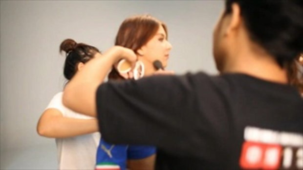 ถ่ายแบบบอลโลก 2014 สุดเซ็กซี่ FHM GND วีดีโอเบื่องหลัง 3