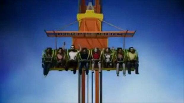 เปิดตัวแล้ว! เครื่องเล่นที่น่ากลัวที่สุดในโลก Zumanjaro Drop of Doom