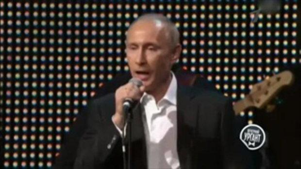 กรรมการมีเงิบ! เมื่อประธานาธิบดี 'ปูติน' ไปออกรายการ The Voice