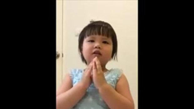 หนูน้อย โชว์ร้องเพลงฮิตประจำเทศกาล ลอยกระทง!