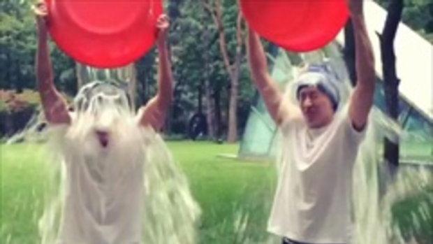 ทงเฮ และ อึนฮยอก Ice Bucket Challenge