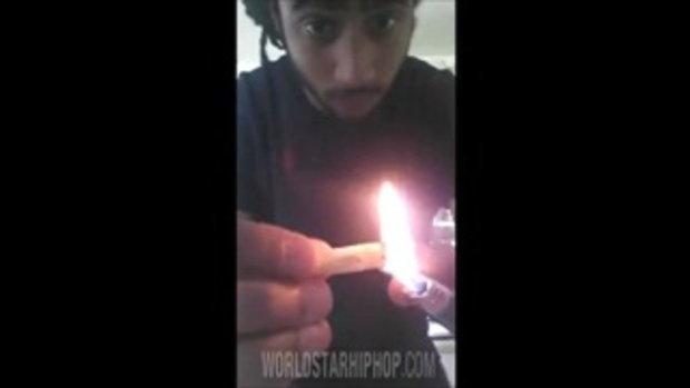 คลิปพิสดาร ค้นพบเฟรนช์ฟรายด์ สูบแทนบุหรี่ได้