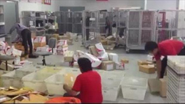ชาวเน็ตเป็นห่วง ไปรษณีย์ไทย
