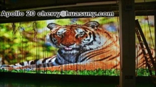 HD ที่มีความยืดหยุ่นเวทีหน้าจอ LED แสดงผล