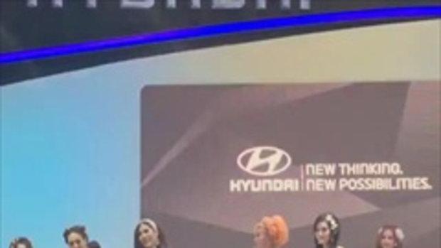 พริตตี้ นุ๊กซี่ ฮุนไดแองเจิ้ลธีมสีสลิ่ม