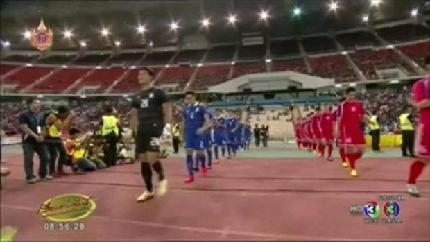ช้างศึก ยู-23 ตีตั๋วลิ่วรอบ 16 ทีมสุดท้าย หลังเสมอเกาหลีเหนือ 0-0 (01 เม.ย.58)