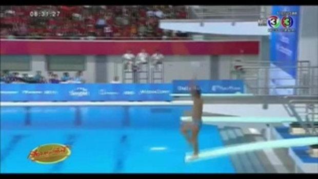 แชร์ว่อน คลิป 2 นักกระโดดน้ำฟิลิปปินส์ โดดผิดท่า ได้ 0 คะแนน(12 มิ.ย.58)