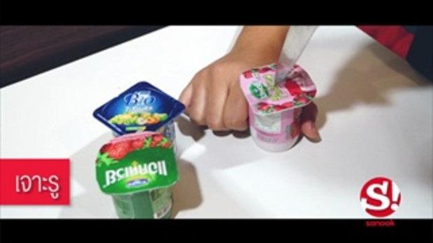 ทำไอศกรีมโยเกิร์ตโฮมเมดแบบง่ายๆ