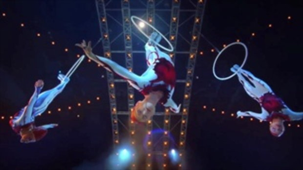 อุ่นเครื่องกันกับ Cirque DU Soleil  โชว์หวาดเสียวสุดอลังการ