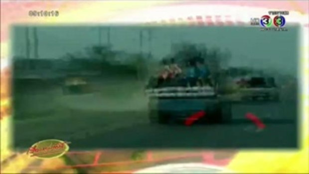 ยกย่อง รปภ.ฮีโร่ ช่วยเด็กกำลังจะถูกรถชนรอดปลอดภัย (11 ส.ค.58)