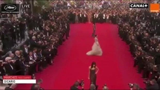 ชมพู่ อารยา เดินพรมแดง งานเมือง Cannes 2015