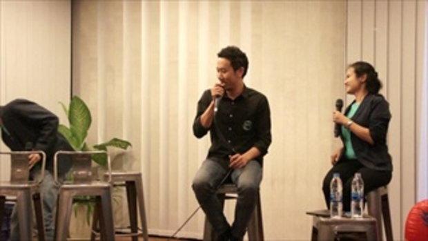 Creative Talk 4 Never Give Up คุณญาณเสฎฐ์ ดิลกวงศ์วัฒน์ Igloo Studio (1/7)