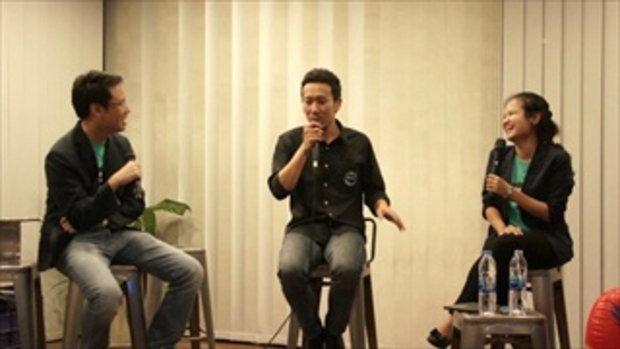 Creative Talk 4  Never Give Up คุณญาณเสฎฐ์ ดิลกวงศ์วัฒน์ Igloo Studio (2/7)
