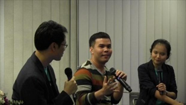 Creative Talk 4  Never Give Up คุณบีม อรรถพงศ์ ลิมศุภนาค DriveBot (3/5)