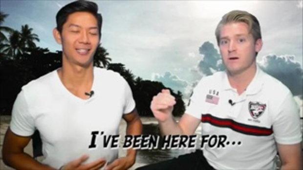 คุณมาประเทศไทยนานแค่ไหนแล้ว ภาษาอังกฤษว่าอย่างไร