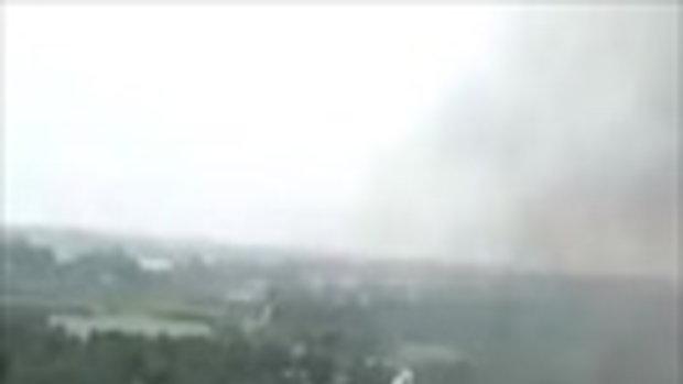 คลิปนาทีระเบิดสนั่นโรงงานเคมีจีน ไฟลุกท่วม