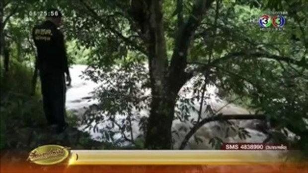 เตือนชาวบ้านพัทลุงรับมือน้ำป่าไหลหลาก หลังฝนตกหนักต่อเนื่อง