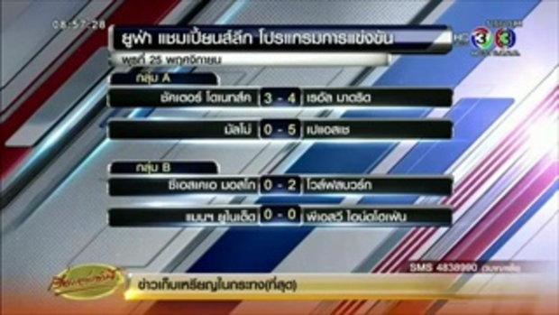 ผลฟุตบอลยูฟ่า ชปล. กลุ่ม A-D คืนวันที่ 25 พ.ย.2558 (26 พ.ย.58)