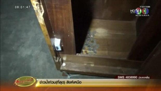 พระเณรลำปางไล่ล่าโจรงัดตู้บริจาคกลางดึก (01 ธ.ค.58)