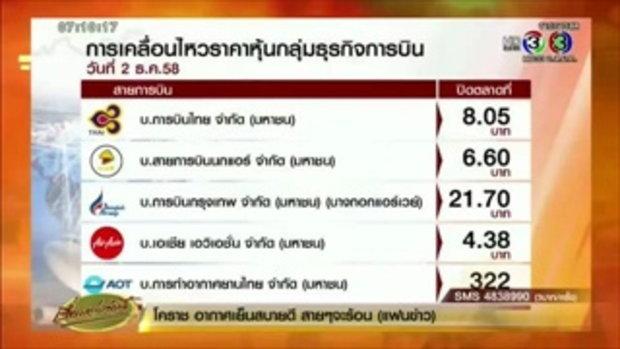 หุ้นสายการบินร่วงระนาว หลัง FAA ลดมาตรฐานการบินในไทย