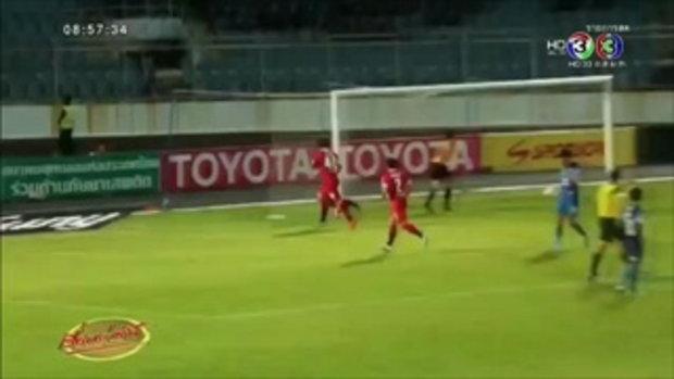 สระบุรีชนะฉลามชล 3-0 รอดตกชั้น (14 ธ.ค.58)