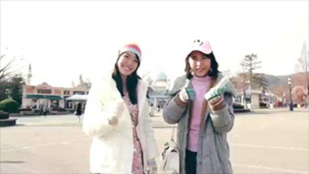 คลิปโมเม พาเพลิน สั่งสาว Lotte Toppo ให้ strong!!
