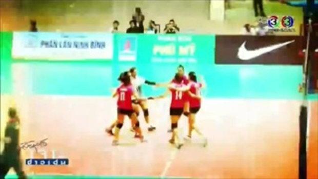 เจาะข่าวเด่น แชมป์วอลเลย์บอลสโมสรหญิง เอเชีย 2015 (22 ก.ย. 58)