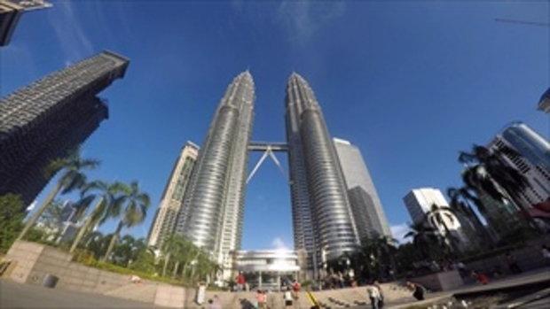 GOPRO Petronas Twin Tower , Kuala Lumpur Malaysia