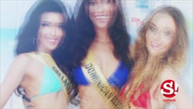 เสิร์ฟความเซ็กซี่เบาๆ กับชุดว่ายน้ำของสาวงามผู้เข้าประกวด Miss Grand International 2015