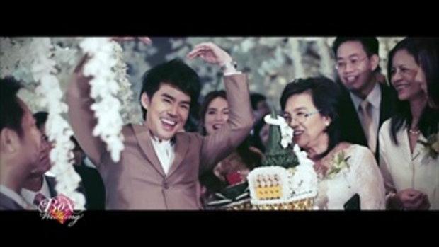 คลิปบรรยากาศงานแต่งงาน บีม - ออย